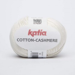 COTTON-CASHMERE 52. Blanco