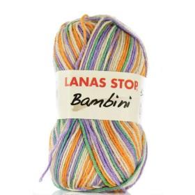 BAMBINI ESTAMPADO 225. Lila        (lila-beige-verde-naranja)