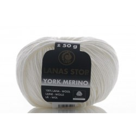 York Merino 000. Blanco