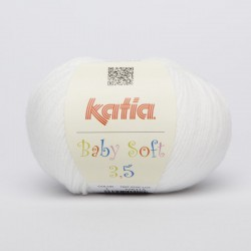 BABY SOFT 3,5 - 01 Blanco