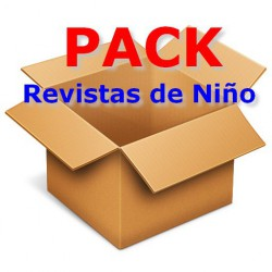 PACK REVISTAS NINOS