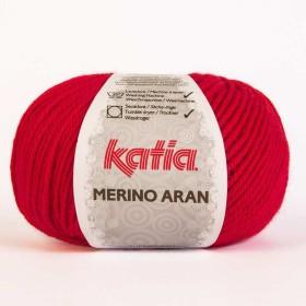 MERINO ARAN 04. Rojo