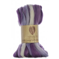 LANA NATURAL 100% 2503. Estampado Morado