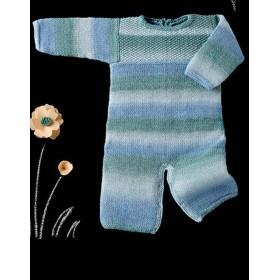 BABY AZTECA 55 Azul