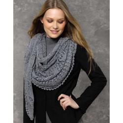 SILKY LACE Gris