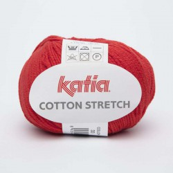 COTTON STRETCH 33 Rojo