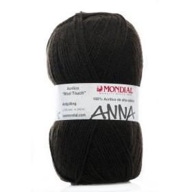 ANNA MONDIAL 695. Marrón Oscuro
