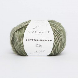 COTTON MERINO PLUS 302 Verde