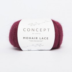 MOHAIR LACE 311 Granate