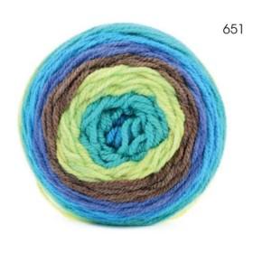 CARAMELLA 651 Azul