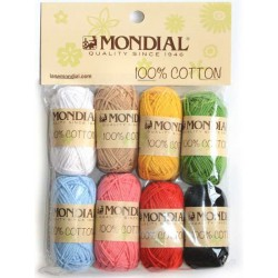 SET MINI BALLS 100% COTTON