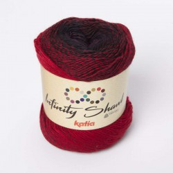 INFINITY SHAWL 305 Granate