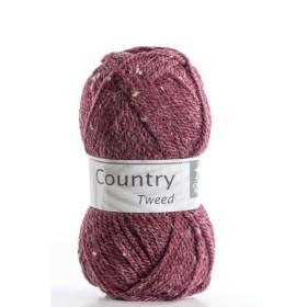 COUNTRY TWEED 153. Granate