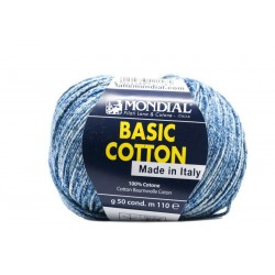 BASIC COTTON STAMPE 815 Azulón