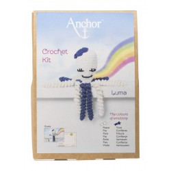 KIT CROCHET PULPITOS. 9066. Blanco - Luma