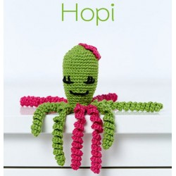 KIT CROCHET PULPITOS. 9064. Verde - Hopi