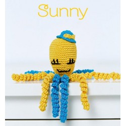 KIT CROCHET PULPITOS. 9067. Amarillo - Sunny