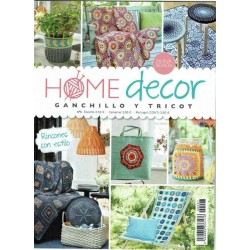 Revista nº 1 Ganchillo y Tricot - HOME decor