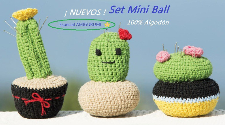 Set mini ball Amigurumi